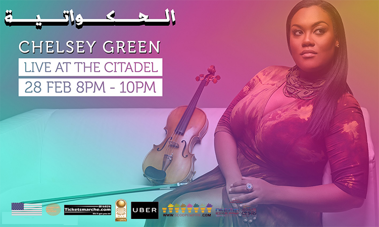 U.S. Jazz Violinist Chelsey Green to Perform in Egypt Next Week