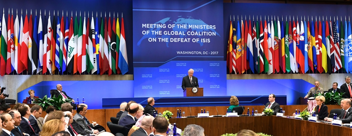 Global Coalition on the Defeat of ISIS Meets in Washington, DC