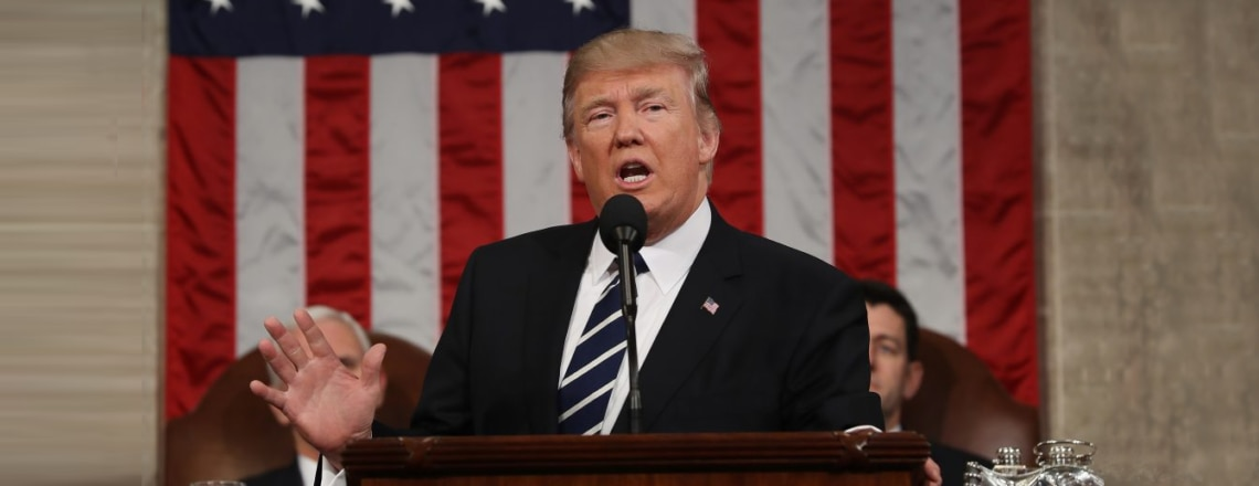 President Trump's First Address to Congress