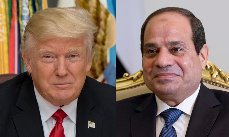 President Trump & President El-Sisi