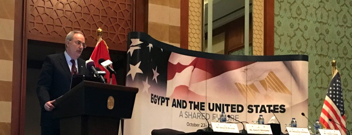 The Chargé d'Affaires' Speech at the Egyptian Community Impact Session