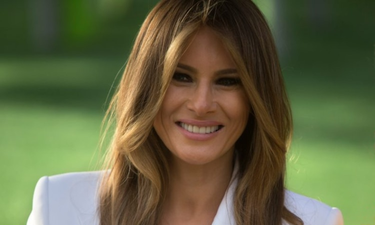 U.S. First Lady Melania Trump (© AP Images)