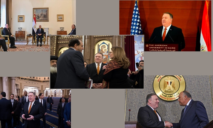 S. Pompeo in Egypt