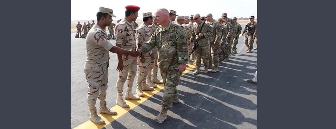 U.S., Egypt kick off Exercise Bright Star 2017