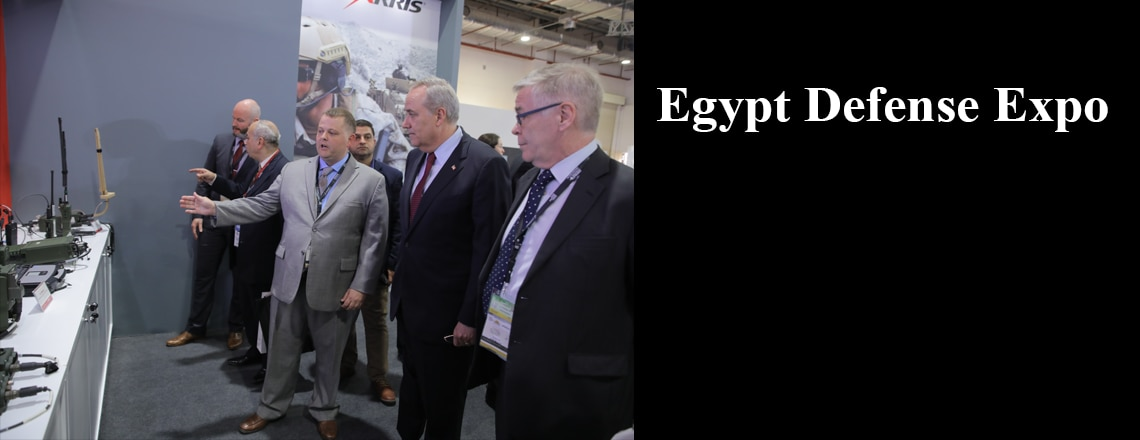 U.S. Welcomes First Egypt Defense Expo With Government, Military, Private Sector