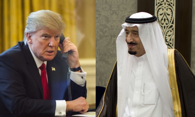 Trump Call Salman